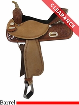"17"" Circle Y The Proven Rush Barrel Racer 3029 CLEARANCE"