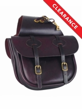 Tucker Saddlery Traditional Saddle Bag 123 CLEARANCE