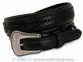 Black Top Hand Men's Ranger Belt 2476801