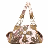 Blazin Roxx Pink Mossy Oak Shoulder Bag N7519430