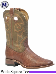 DISCONTINUED Boulet Boots Men's Wide Square Toe Boot 0066