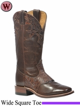 DISCONTINUED Boulet Boots Women's Wide Square Toe Boot 1049