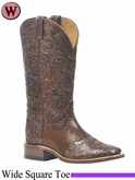 Boulet Boots Women's Wide Square Toe Boot 1062