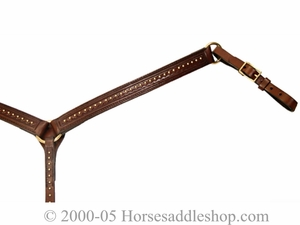Brass Circle Y Breast Strap 4280-3331