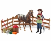 Breyer Olivia, Farm Fresh Set 61046