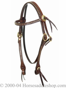 Bridle with Brass Hardware by Circle Y 197-8331