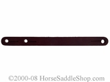 Burgundy Heel Spur Straps for Cowboy Spurs wv300695