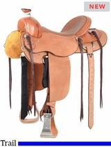 Cashel Drover Roughout Trail Saddle DR