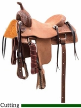 Cashel Kids Cutting Saddle SA-CKCU-12