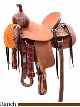 Cashel Kids Ranch Saddle SA-CKRA-12