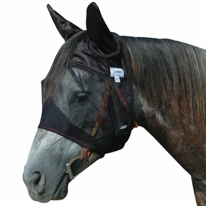 Cashel Quiet Ride Fly Mask Standard With Ears QRSE