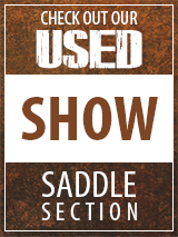 Check out our Used Show Saddle section