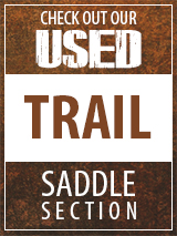 Check out our Used Trail Saddle section
