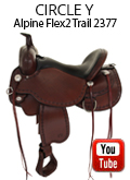 Circle Y Alpine Flex2 Trail Saddle 2377 Review Video