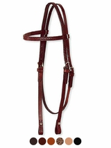 Circle Y Basketweave Headstall 02258