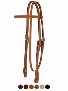 Circle Y Basketweave Headstall 0225-85
