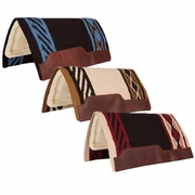 "Circle Y Blanket Top Standard Square Saddle Pad 32L""x32""D X1225"