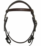 Circle Y Border Tooled Browband Headstall CLEARANCE