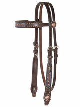 "Circle Y Browband Headstall 5/8"" X0117-1001"