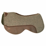 Circle Y Close Contact Wool Felt Saddle Pad CLEARANCE