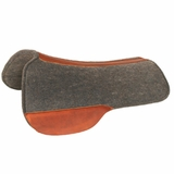 SOLD 2015/02/20 Circle Y Dropped Front & EBR Rigging Wool Felt Saddle Pad CLEARANCE