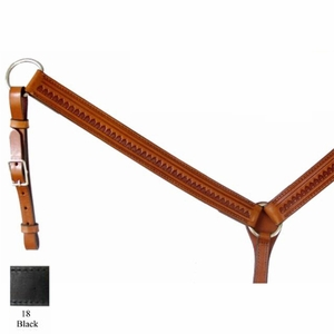Circle Y Fan Breast Collar CLEARANCE
