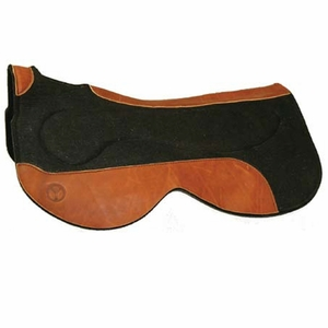 Circle Y Felt Saddle Pads with Gel Bar Close Contact 70