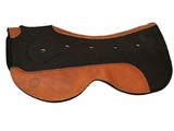 Circle Y Felt Saddle Pad with Gel Bar Close Contact CLEARANCE