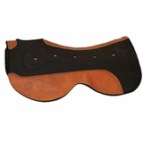 Circle Y Felt Saddle Pads with Gel Bar Close Contact CLEARANCE