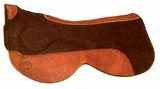 Circle Y Felt Saddle Pads with Gel Bar Close Contact 70 71