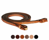 "Circle Y Julie Goodnight 5/8"" x 7' Split Reins 4726-10"