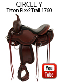 Circle Y Julie Goodnight Teton Trail Flex2 Saddle 1760 Video Review
