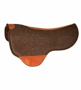 SOLD Circle Y Just-B-Natural Dropped Front Round Skirt Felt Pad CLEARANCE