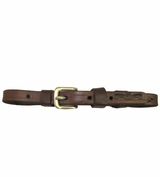 SOLD Circle Y Leather Curb Strap CLEARANCE
