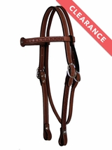 Circle Y Old West Tooled Browband Headstall 0100-61 CLEARANCE
