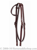 Circle Y One Ear Headstall withThroatlatch 0119-58