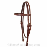 Circle Y Plain Headstall CLEARANCE