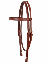 Circle Y Plain Headstall 012500