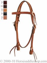 Circle Y Silver Conchos Browband Headstall 100-4301