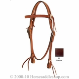 Circle Y Silver Conchos Browband Headstall CLEARANCE
