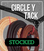 Circle Y Tack: Stocked