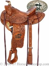 Commemorative John Wayne Saddle by Circle Y