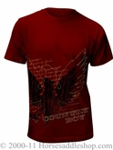 NO LONGER AVAILABLE Country Boy Red Phoenix Short Sleeve T