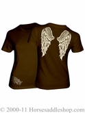 NO LONGER AVAILABLE Country Girl Angel Wings Top