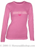NO LONGER AVAILABLE Country Girl Heart Country Tee