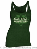 NO LONGER AVAILABLE Country Girl - Made with Love Shirt Junior Fit Racerback Tank