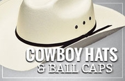 Cowboy Hats & Ball Caps