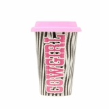 Cowgirl Ceramic Travel Mug with Sleeve 94050