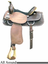 "DISCONTINUED 14.5"" to 15.5"" Crates All Event Saddle 2280"