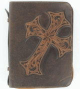 Cross Bible Cover 0653002